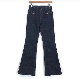 Marc Jacobs Charlie High Rise Flare Leg Jeans